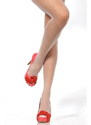 Pierre Cardin Külotlu Çorap Beyaz